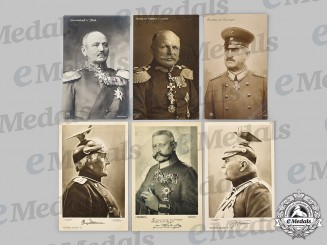 Germany, Imperial. A Mixed Lot of Notable Figure Postcards