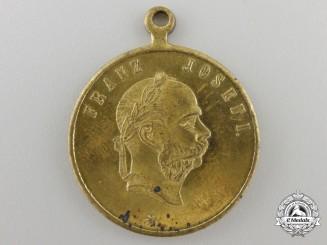 An 1891Austrian Naval Maneuvers in Dalmatia Medal