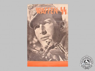 Germany, SS. A Waffen-SS Recruiting Poster