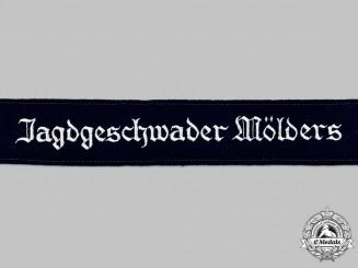 Germany, Luftwaffe. A Mint and Unissued Jagdgeschwader Mölders Cuff Title
