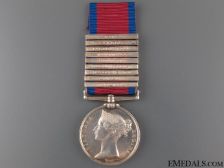 A Nine Bar M.G.S. to the King's German Legion