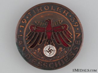 "1939 ""Tiroler"" Shooting Award"