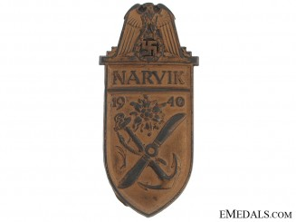 Narvik Shield – Kriegsmarine Issue