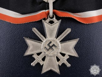 A Cased Knight's Cross of the War Merit Cross by Deschler
