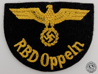 A Deutche Reichsbahn Official's Sleeve Eagle