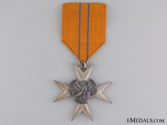 A Estonian Order of the Eagle; Silver Merit Cross