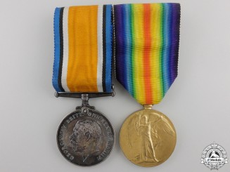 A First War Medal Pair to the 10th Canadian Infantry Battalion