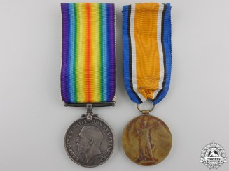 Canada. A First War Medal Pair to the Canadian Forestry Corps