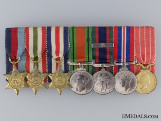 A Second War Canadian Miniature Group of Seven