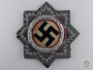 An Army Issue German Cross in Gold