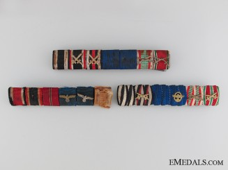 Army/Police Three Ribbon Bars