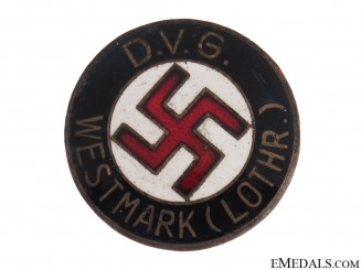 """DVG"" WESTMARK"" NSDAP Membership Badge"