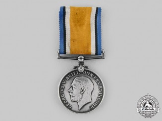 Canada, CEF. A British War Medal, Canadian Railway Troops