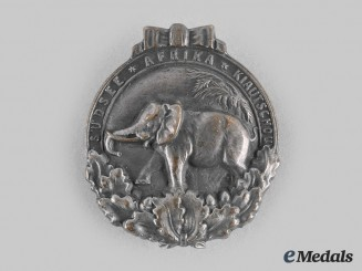 Germany, Weimar Republic. A Colonial Badge, c.1930