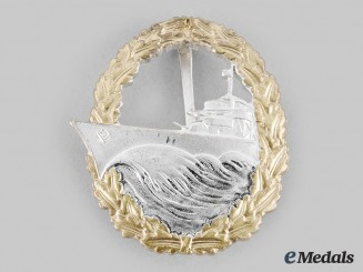 Germany, Federal Republic. A Destroyer War Badge, 1957 Version