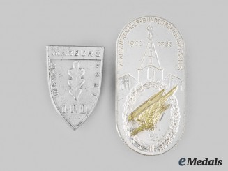 Germany, Federal Republic. A Pair of Veterans Badges