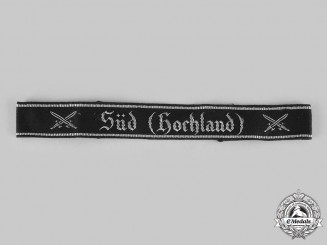 Germany, NSRKB. A National Socialist Warrior's League of the Reich South Cuff Title