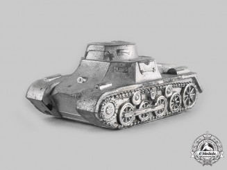 Germany, Wehrmacht. A Großborn Barracks Commemorative Panzer I Model Tank
