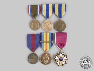 United States. A Lot of Six Restrike Medals & Awards
