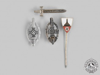 Germany, Third Reich. A Lot of Veterans Organization Badges