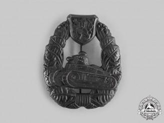 Czechoslovakia, I Republic. A Tank Badge, c.1935