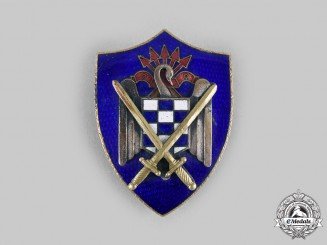 Spain, Fascist State. A Spanish Students League of the Falange Army Badge c.1950