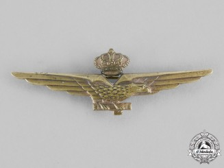 Italy, Fascist State. A Fascist Pilot Qualification Badge c.1940