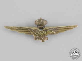 Italy, Fascist State. A Fascist Pilot Qualification Badge c.1940