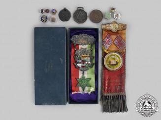 Canada, Dominion. A Lot of Thirteen Masonic Items