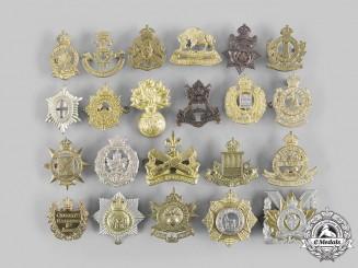 Canada. A Lot of Twenty-Two Cap Badges & Glengarry Badges