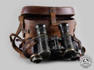 United Kingdom. A Binocular Prismatic No. 3 Mark II Army Field Binoculars 1918