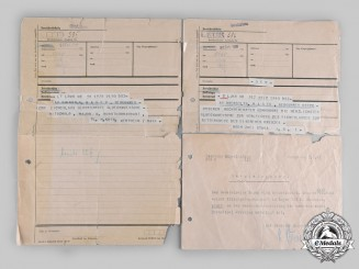 Germany, Luftwaffe. A Collection of Documents to Generalmajor Walter Hagen (KC w. Oak Leaves)