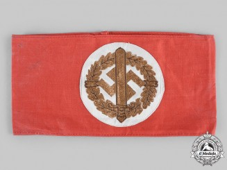 Germany, SA. A Sturmabteilung (SA) Sports Badge Association Armband