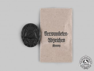 Germany, Wehrmacht. A Wound Badge, Black Grade, by Heinrich Wander