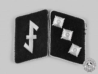Germany, SS. A Set of 23rd SS Volunteer Panzer Grenadier Division Nederland Sturmführer Collar Tabs