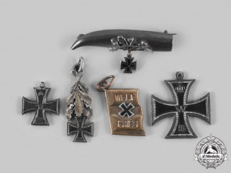 Germany, Imperial. A Lot of 1914 Iron Cross Miniature Badges