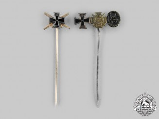 Germany, Imperial. A Pair of Stickpins
