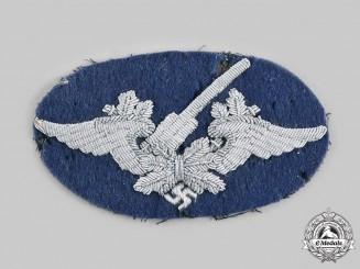 Germany, Luftwaffe. A Luftwaffe Flak Unit Officer's Sleeve Insignia
