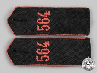 Germany, HJ. A Set of HJ Bann 564 Enlisted Personnel Shoulder Straps
