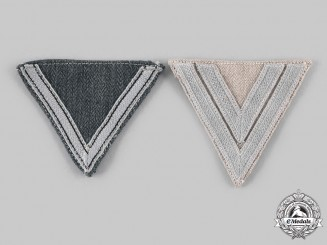 Germany, Heer. A Pair of Heer Rank Chevrons