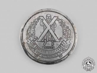 Canada, Dominion. Cameron Highlanders of Ottawa Sweetheart Badge