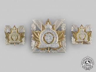 Canada, Commonwealth. A Perth Regiment Insignia Set, c.1950