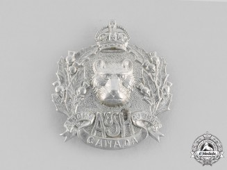 Canada, Dominion. An Argyll and Sutherland Highlanders of Canada (Princess Louise's) Cap Badge