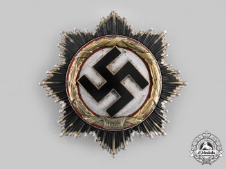 Germany, Wehrmacht. A German Cross in Gold, by Gebrüder Godet & Co.