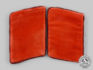 Germany, NSDAP. A Pair of Anwärter Gau Level Collar Tabs