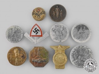 Germany, Third Reich. A Mixed Lot of Badges