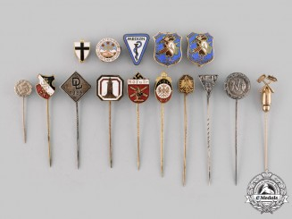 Germany, Third Reich. A Mixed Lot of Badges and Stick Pins