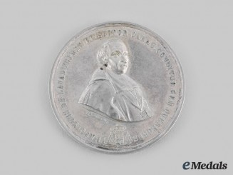 Canada, Dominion. A Silver Bishop Laval Medal