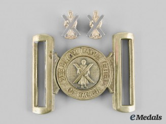 Canada. Three Black Watch (Royal Highland Regiment) of Canada Items