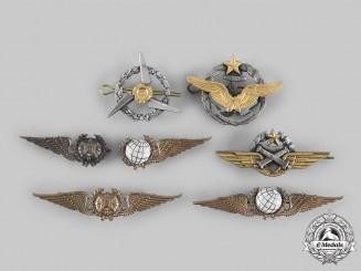 France, V Republic; Portugal, Republic. A Lot of Seven Air Force Badges